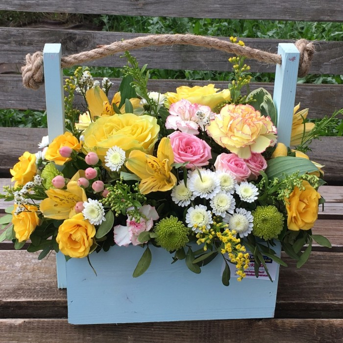 Увеличить - Ящик с цветами №11