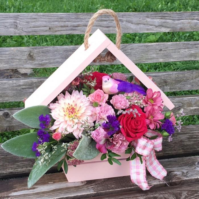 Увеличить - ДР-Цветочный домик